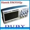 DHL Free Shipping Hantek DSO5102P Digital Storage Oscilloscope Usb Analyer 100MHz 1GSa S 40K Cheaper Than