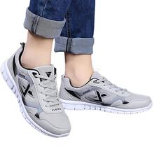 Men s Sport Mesh Breathable Running Shoes Spring Autumn Lace Up Comfortable Jogging Sneakers Light trainers