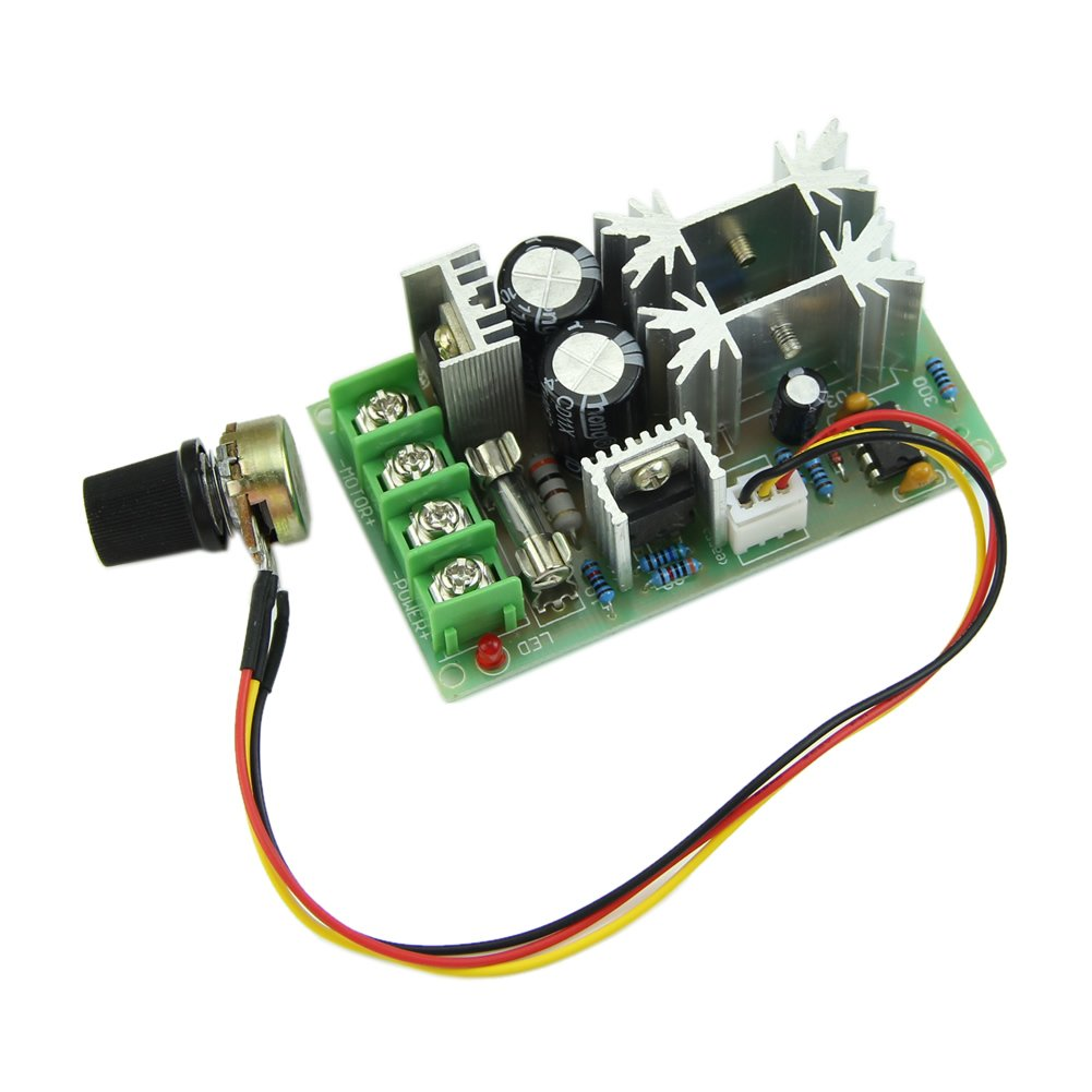 LIXF-Universal DC10-60V 20A PWM HHO RC Motor Speed Regulator Controller Switch