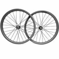 29er carbon mtb disc wheels AM 40x25mm asymmetry tubeless mtb bicycle wheels  D411SB/D412SB 100X15 142X12 mtb wheelset