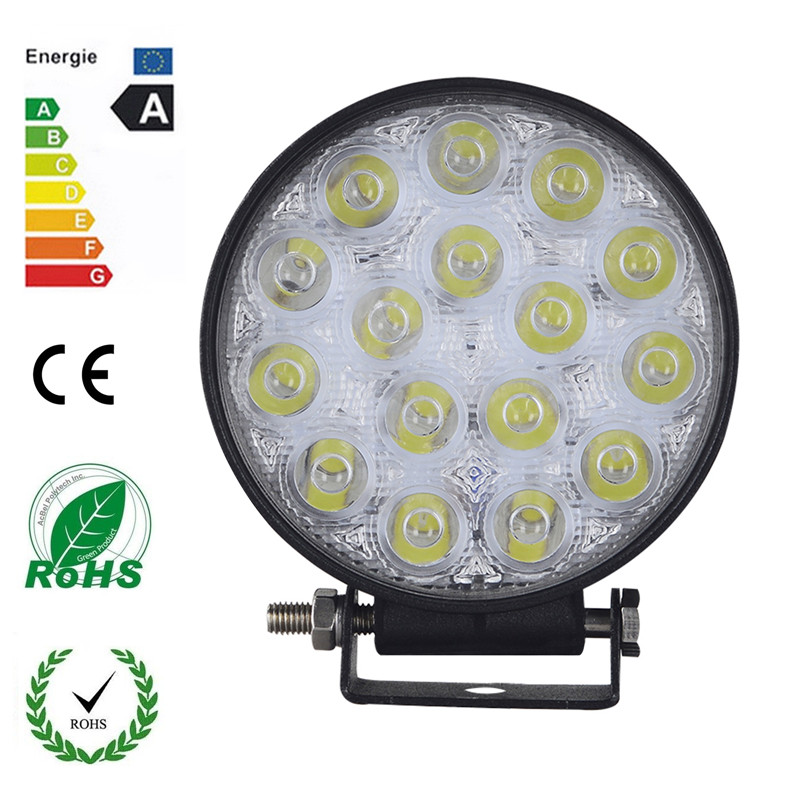 20 Pieces 48W 16 x 3W Car LED Light Bar as Work light Flood Light Spot Light for Boating Hunting Fishing Wholesale