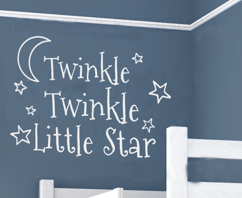 Twinkle Twinkle Little Star Wall Sticker Part 98