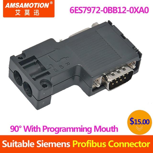 Siemens Profibus Bus Connector 6ES7972-0BB12-0XA0 6ES7972-OBB12-OXAO Brand New
