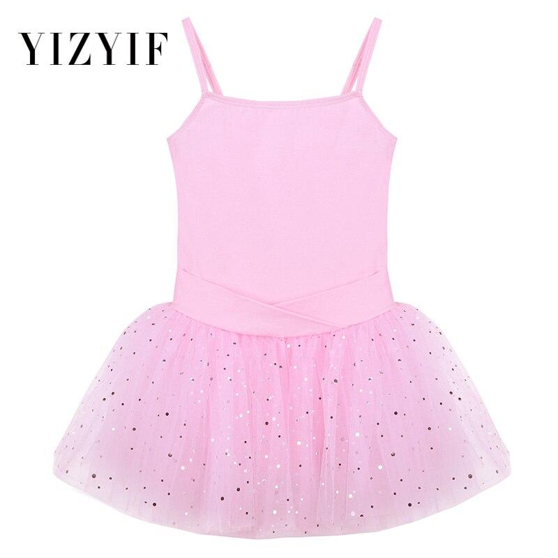 a2b9f12339 Detail Feedback Questions about YiZYiF Kids Girls Camisole Tutu Dress  Sleeveless Bow Glitter Tulle Ballet Leotard Dress Dancer Wear gymnastics  dress for ...
