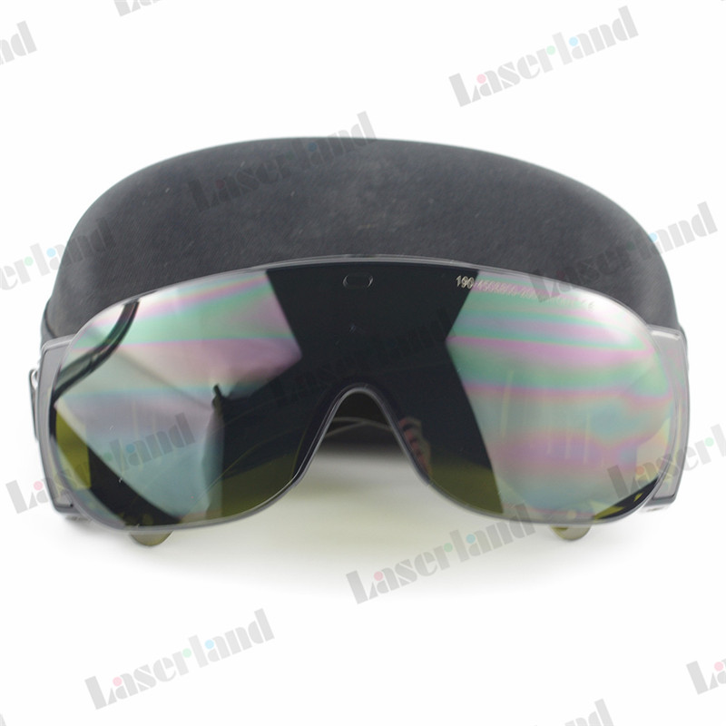 CE Certificate IPL UV IR 200-450nm, 800-2000nm Laser Safety Goggles Protection Glasses O.D 4 Beauty Clinic EP-5 ipl glasses ipl protecttive glasses ipl goggles with ce