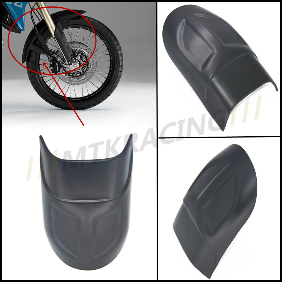 Motorcycle Front Mudguard Fender Rear Extender Extension For BMW F700GS 2012 - 2015 2013 2014 F700 GS