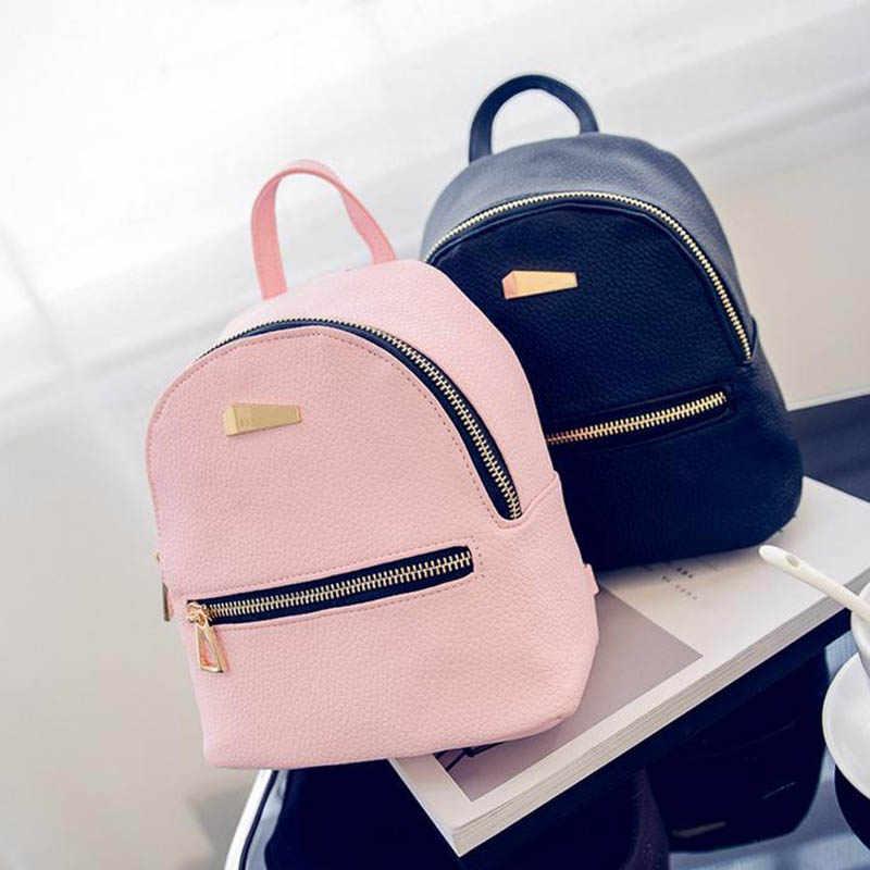 28cda91f1c4e XINIU Hot Sale Fashion Shell Type Women's Leather Backpack Travel School  Rucksack High Quality Small Backpacks Mochila Escolar