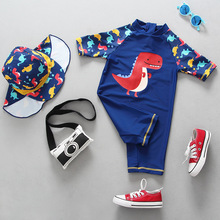 Children's Swimwear Boys 2019 New Cartoon Shark Baby Swimsuit Boy Kids One Piece Bathing Suit Toddler Baby Boy's Swimming Suits