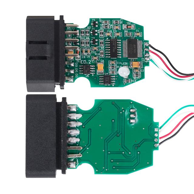Galletto 1260 ECU Chip Tuning Tool EOBD/OBD2/OBDII Flasher Galletto 1260 ECU Flasher with FTDI FT232RL engine tuning