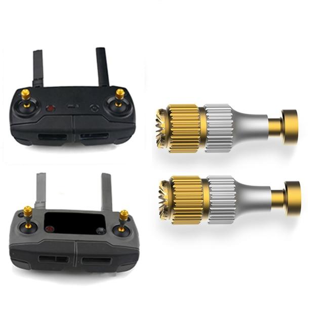 2pcs Remote Control Thumb Rocker Joystick for DJI MAVIC 2 With Screen for MAVIC 2 Pro Air Drone Controller Aluminum Alloy Stick 1