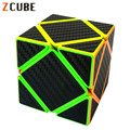 Z-cube Carbon Fiber Skewb Sticker Speed Magic Cube Fidget Cube Irregular Magico Bricks Blocks Educational Toys for Children