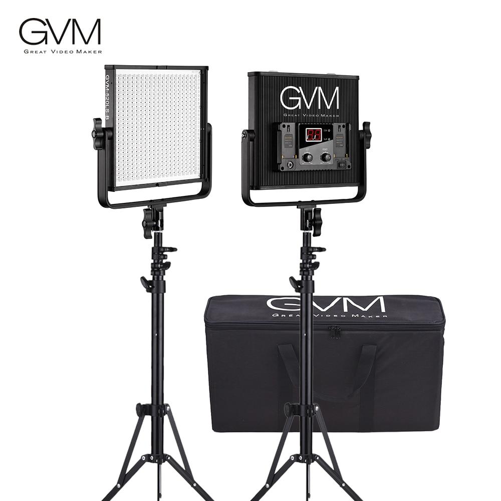 Gvm Photo Studio Led Ring Light: Aliexpress.com : Buy GVM GVM 520LS B Bi Color LED Video