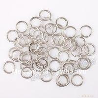 7500 шт./лот оптовая продажа мода нью-гальваническим родия открытые перейти кольца 5 мм ювелирных изделий 160036