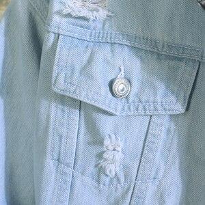 Image 4 - New  men jeans jacket mens Bomber Jackets Men hip hop Man Vintage Denim Jacket coat Streetwear Chaqueta Hombre  S XL XXL
