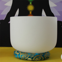 Beautiful color chakra O-ring for 9 to 10 inch crystal singing bowl