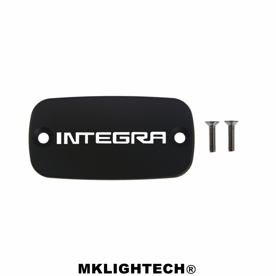 MKLIGHTECH FOR <font><b>HONDA</b></font> <font><b>Integra</b></font> <font><b>700</b></font> 12-13 <font><b>Integra</b></font> 750/S/D 13-17 CNC Aluminum Motorcycle Brake Fluid Fuel Reservoir Tank Cover Cap image