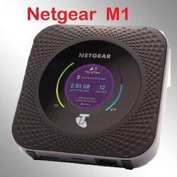 Desbloqueado netgear nighthawk mr1100 m1 4GX Gigabit LTE Router móvil banco de energía router wifi módem 4g Router con tarjeta SIM