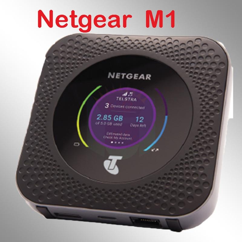 Unlocked Netgear Nighthawk M1 4GX Gigabit LTE Mobile Router PK E5186 ac810s ac790s e5885 e5786