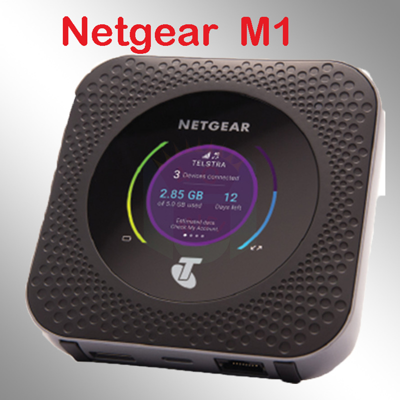 Unlocked Netgear Nighthawk Mr1100 M1 4GX Gigabit LTE Mobile Router Powerbank Wifi Router 4g Modem Router With Sim Card