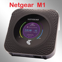 Sbloccato netgear nighthawk mr1100 m1 4GX Gigabit LTE Mobile Router powerbank wifi router 4g modem router con sim card(China)
