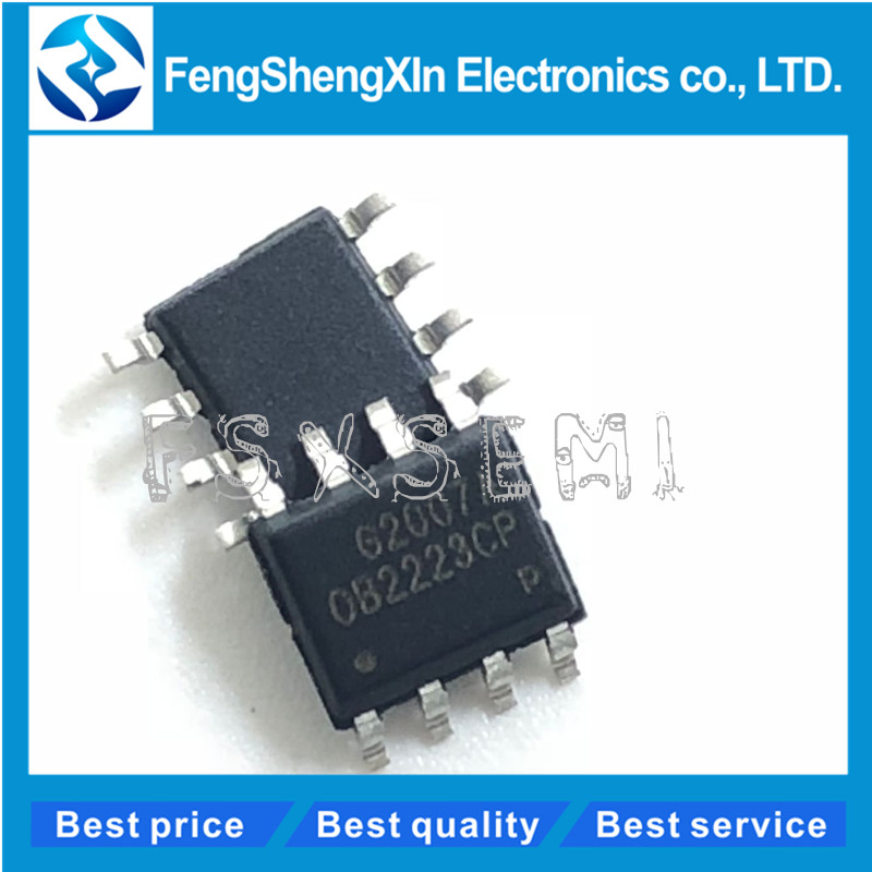 10pcs/lot <font><b>OB2223CP</b></font> OB2223 OB2223CPA SOP-8 LCD power supply ic image