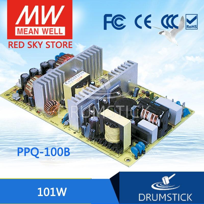 все цены на Original MEAN WELL PPQ-100B meanwell PPQ-100 101W Quad Output Switching Power Supply онлайн