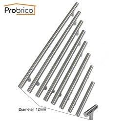 Probrico cabinet t bar handle diameter 12mm cc 50mm 320mm stainless steel furniture drawer knob kitchen.jpg 250x250