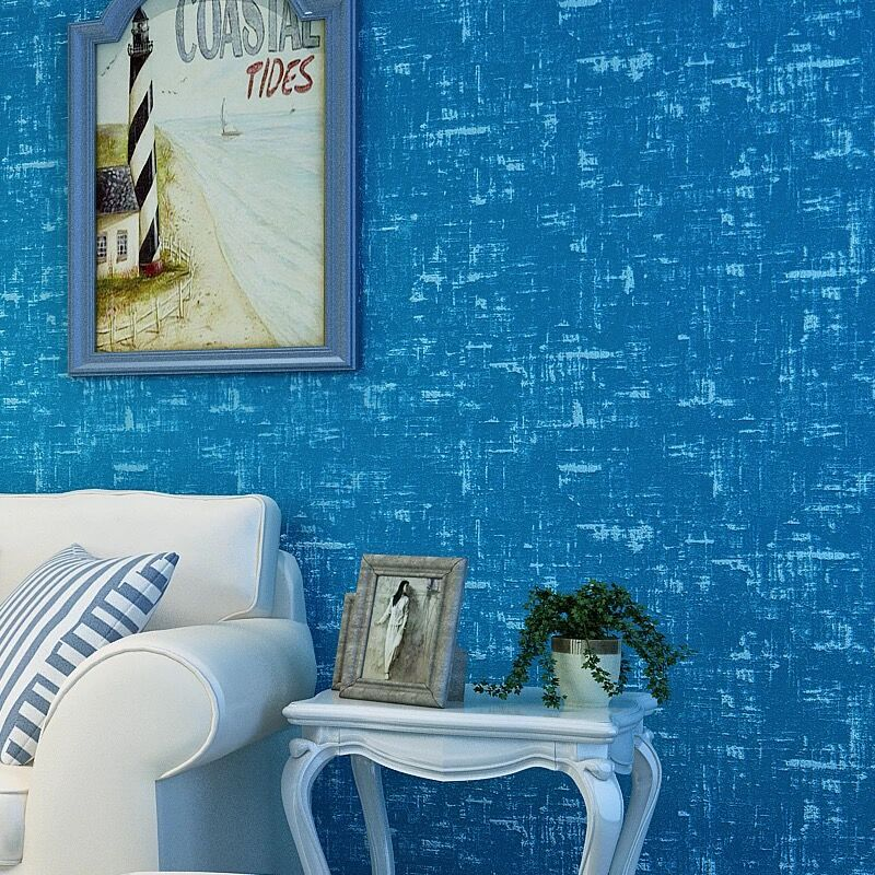 Modern 10m Non-woven Hawaii Wallpaper Roll 3d Blue Wallpaper Eco-Friendly Paper 3D Wall Panels Wood Wallpaper Roll for Walls european style wallpapers 3d thicken non woven wallpaper for walls 3 d non woven wall paper roll floral wallpaper contact paper
