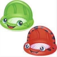Frog swimming pool sunshade pool tub sand pool ocean ball pool inflatable bottom bathtub baignoire pliable