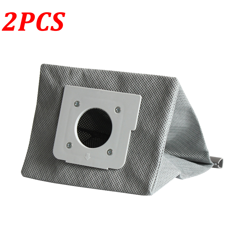 2PCS Washable Dust Bag For LG V-2800RH V-743RH V-943HAR V-2800RB V-2810 V-4800 Robot Vacuum Cleaner Cloth Bags Replacement Parts