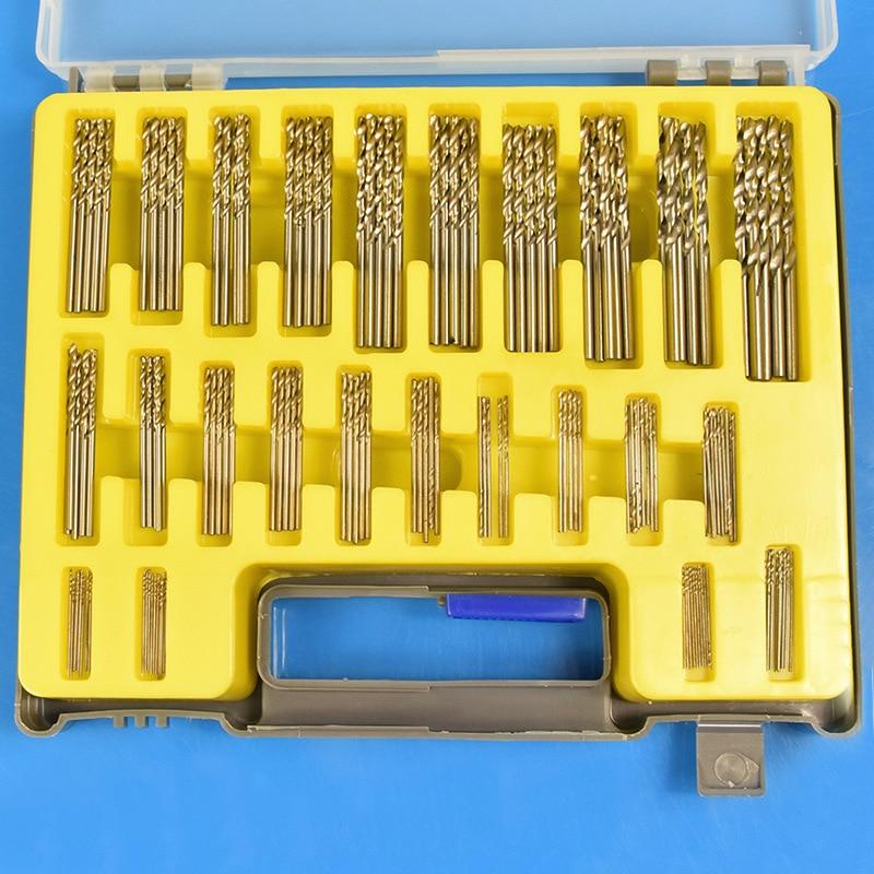 ФОТО 150Pcs/Case 0.4-3.2mm Mini Drill Bit Set HSS Microtech Power Tools Small Precision Twist Drill Kit with Plastic Box