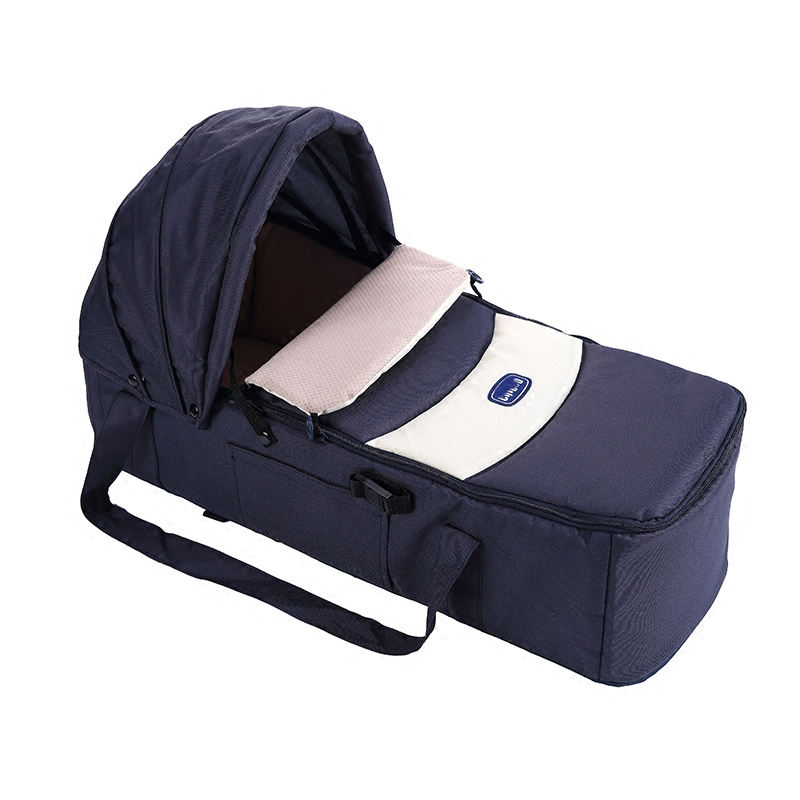 Portable Infant Bed Baby Crib, Comfortable Newborn Travel Cot Safety Neonate Bassinet