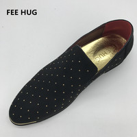 2017 Silver Gold Spike Men Loafers Shoes Luxury Trendy Flat Footwear Studded Male Patent Leather Oxford