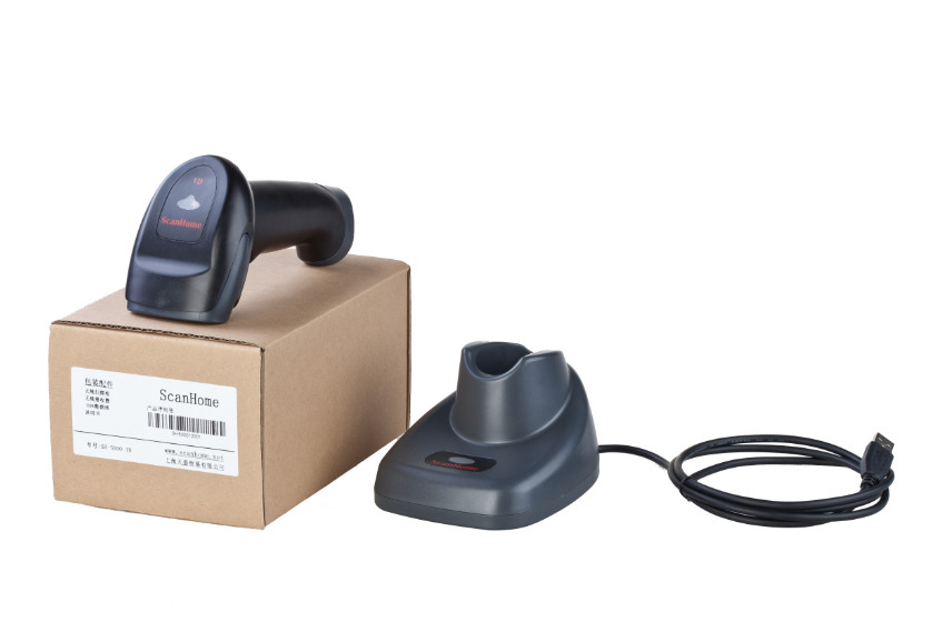new USB RS232 interface One-dimensional laser wireless scanner long-distance,wireless inductive charging stand with storage стоимость