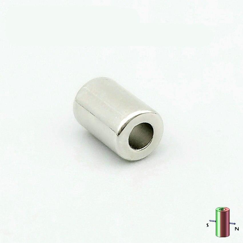 1 Pack N48M NdFeB Magnet Ring Diamrter 4x2x6 mm Diametrically Magnetized Strong Magnet Neodymium Permanent Rare Earth Magnets 1pack ndfeb magnet ring dia 7 2x3x6 3 mm rod diametrically magnetized n40m strong neodymium permanent rare earth magnets