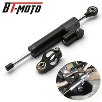CNC Universal Aluminum Motorcycle Damper Steering Stabilize Reversed Safety Control For Kawasaki ZX636 ZX6R Z800 Z750 Z1000