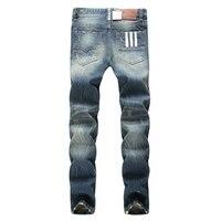 2017 Fashion Dsel Designer Jeans Men Famous Brand Ripped Jeans Denim Cotton Jeans Men Casual Pants