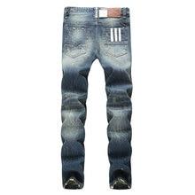 2017 Fashion Dsel Designer jeans men Famous Brand Ripped jeans Denim Cotton Jeans Men Casual Pants printed men jeans , 9003-A