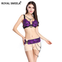 2018 Free Shipping New design belly dancing clothes belly dance set costume Sexy Night dance bellydance Bra&Belt WY8803