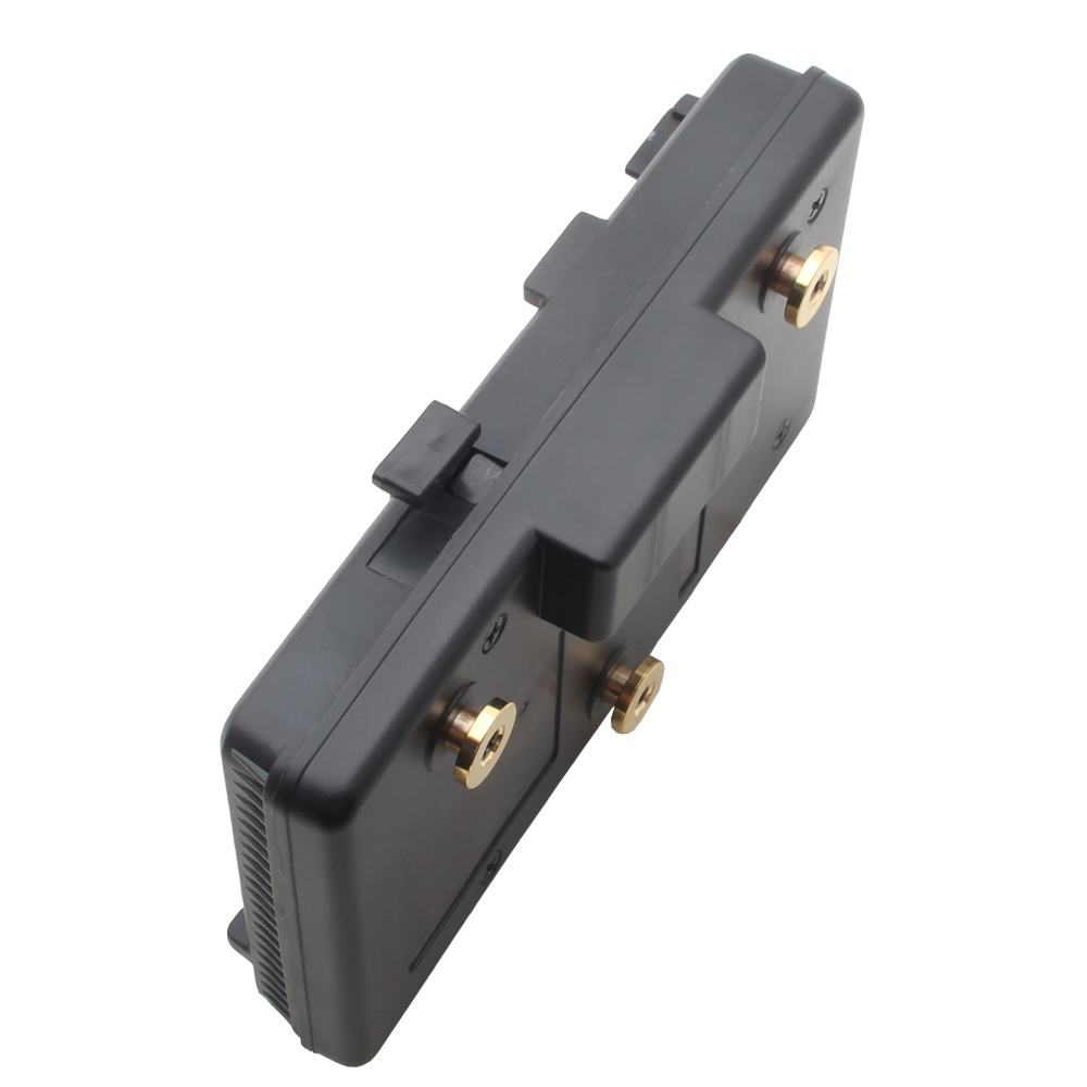 V-Mount Lock To Anton Bauer Battery Adaptor Plate Fit Sony Panasonic JVC Video a gp s anton bauer gold mount for sony idx eng v mount dv hdv battery converter adapter plate a gp s for panasonic jvc video