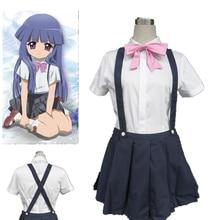 Anime Higurashi no Naku Koro ni Rika Furude Cosplay Costume Custom Made Any Size