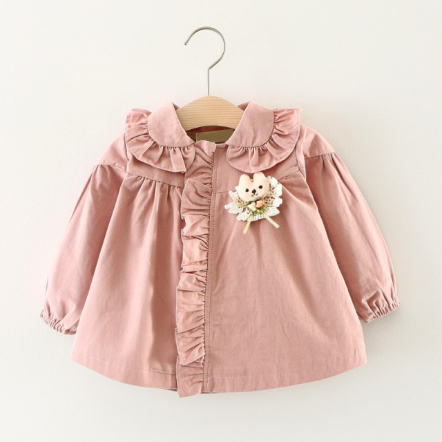 Online Shop 1-4T Cotton Windbreaker Kids Baby Girl Autumn Jackets ...