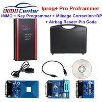 2019 Iprog Pro Ключевые программист Пробег Исправление инструмент для установки подушки безопасности Iprog + IMMO DPF заменить Digiprog3 Carprog V8.21 интернет та