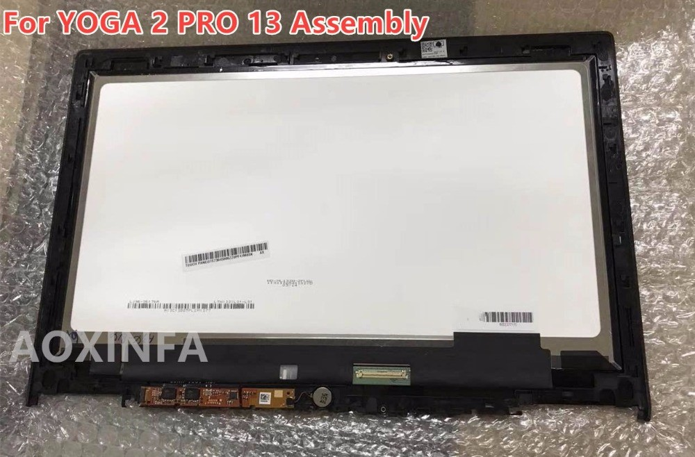 New original For Lenovo Yoga 2 pro 13 LTN133YL01-L01 Laptop LCD Touch Screen Assembly original new space grey silve laptop a1706 lcd assembly 2016 2017 for macbook pro retina 13 a1706 lcd screen assembly mlh12ll a