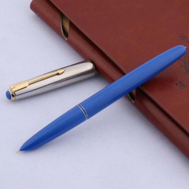 1pc 616 new color plastic popular F nib classic fountain pen 2