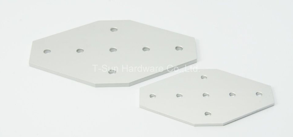 7 Hole Cross-joining Plate for Aluminum Profile 4040