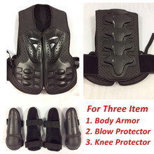 free shipping children kids body armor jacket  protective accessories bicycle chest knee blow protector