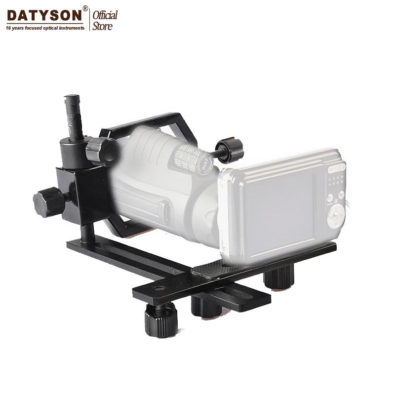 Datyson w pełni metalowy teleskop do montażu kamery adapter do mikroskopu teleskopowego Lornetka lunety celowniczej monokularowy