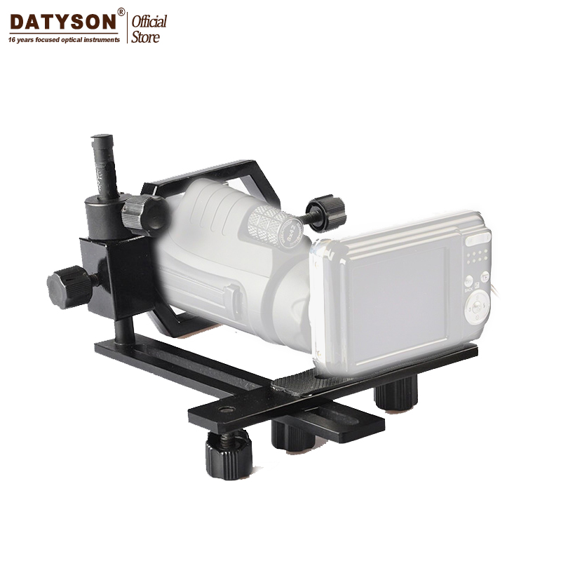 Datyson Fully Metal Telescope Camera Mount Adapter for Telescope Microscope Binocular Spotting Scope Monocular Point-and-shoot