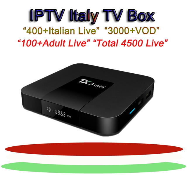 US $90 68 15% OFF|tx3 mini Italy iptv box android tv box arabic sweden  france netherlands israel uk usa turkish iptv subscription media player-in